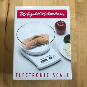 Weight Watchers Electronic Food Scale w Bowl